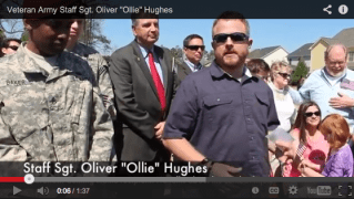 Wounded veteran US Army SSG Ollie Hughes, receives free home at South Lakes